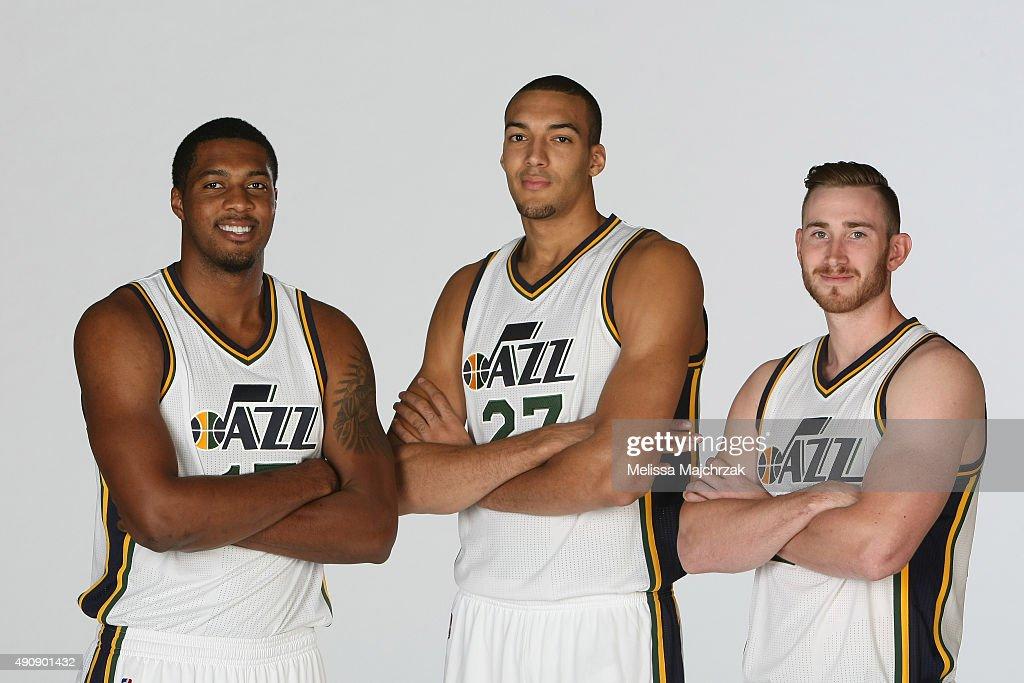 Utah Jazz Media Day 2015 : News Photo