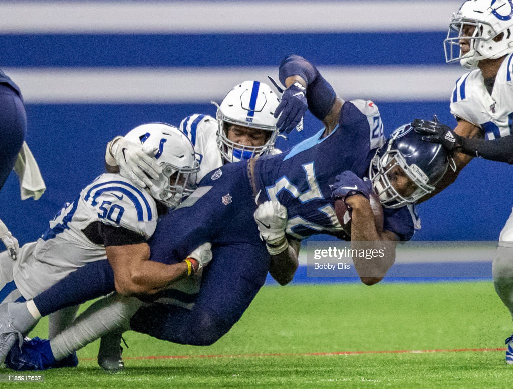 Tennessee Titans v Indianapolis Colts : News Photo