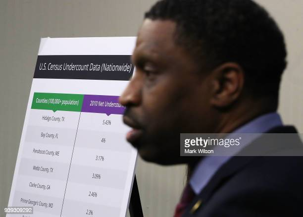 Derrick Johnson President and CEO of the NAACP speaks about a lawsuit filed against the Federal Government concerning the threat that the 2020 Census...