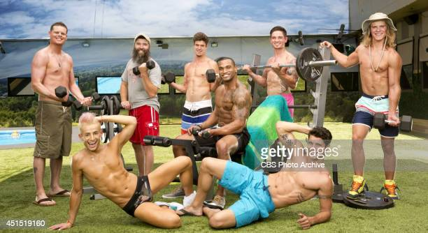 Derrick Levasseur Donny Thompson Zach Rance Devin Shepherd Caleb Reynolds Hayden Voss Frankie Grande and Cody Calafiore will compete for $500000 this...