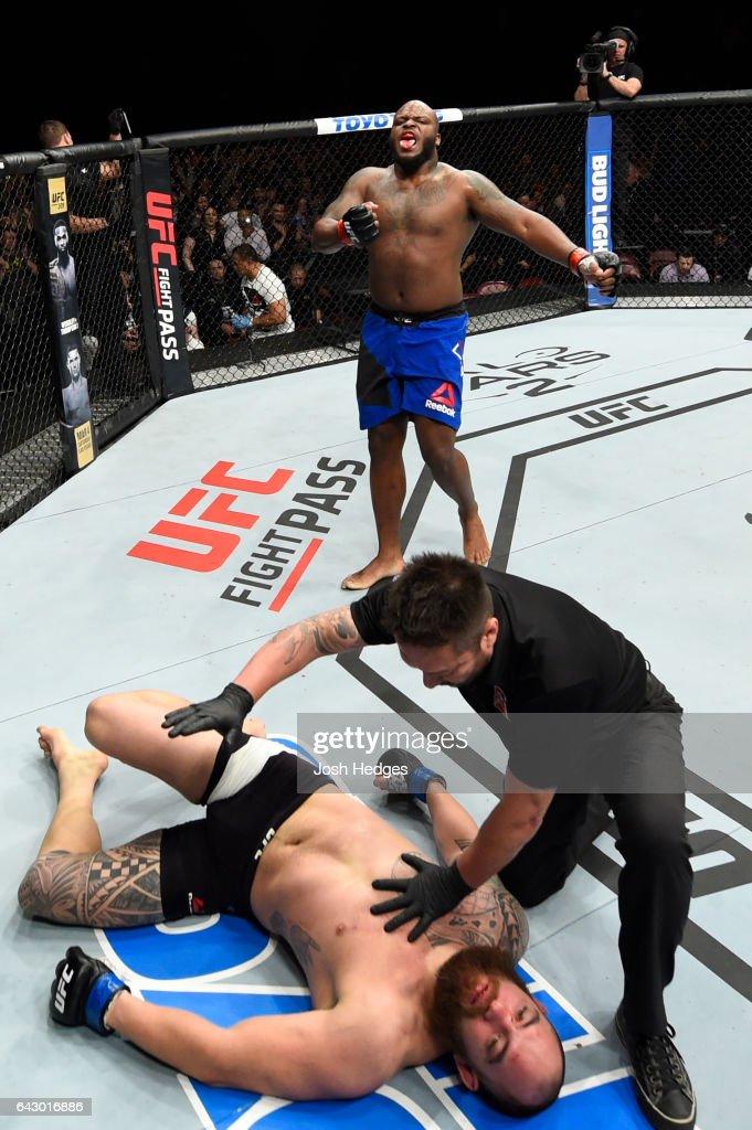 UFC Fight Night: Lewis v Browne : News Photo