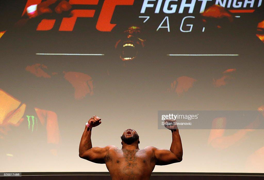 UFC Fight Night Weigh-in