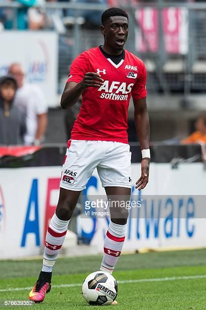 Derrick Luckassen of AZ Alkmaar during the friendly match between AZ and Telstar at the AFAS Trainingscomplex on july 16 2016 in Alkmaar the...