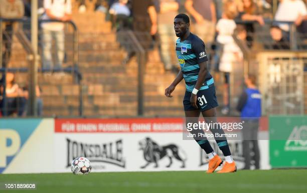 Derrick Luckassen of Hertha BSC during the friendly match between Hertha BSC and the SV Babelsberg 03 at the KarlLiebknechtStadion on october 11 2018...