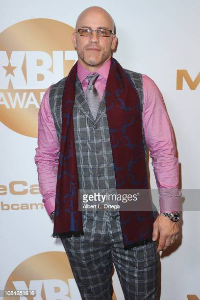 Derrick Pierce arrives for the 2019 XBiz Awards held at The Westin Bonaventure Hotel Suites on January 17 2019 in Los Angeles California