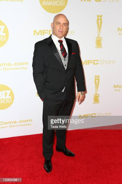 Derrick Pierce attends the XBIZ Awards 2020 on January 16 2020 in Los Angeles California