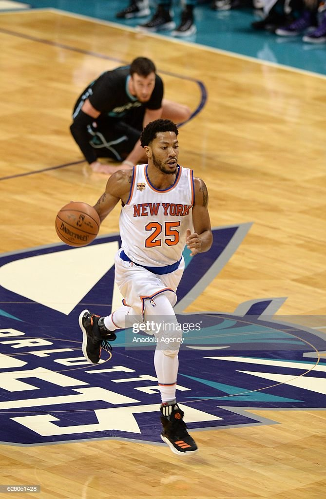 Hornets vs Knicks : NBA : News Photo