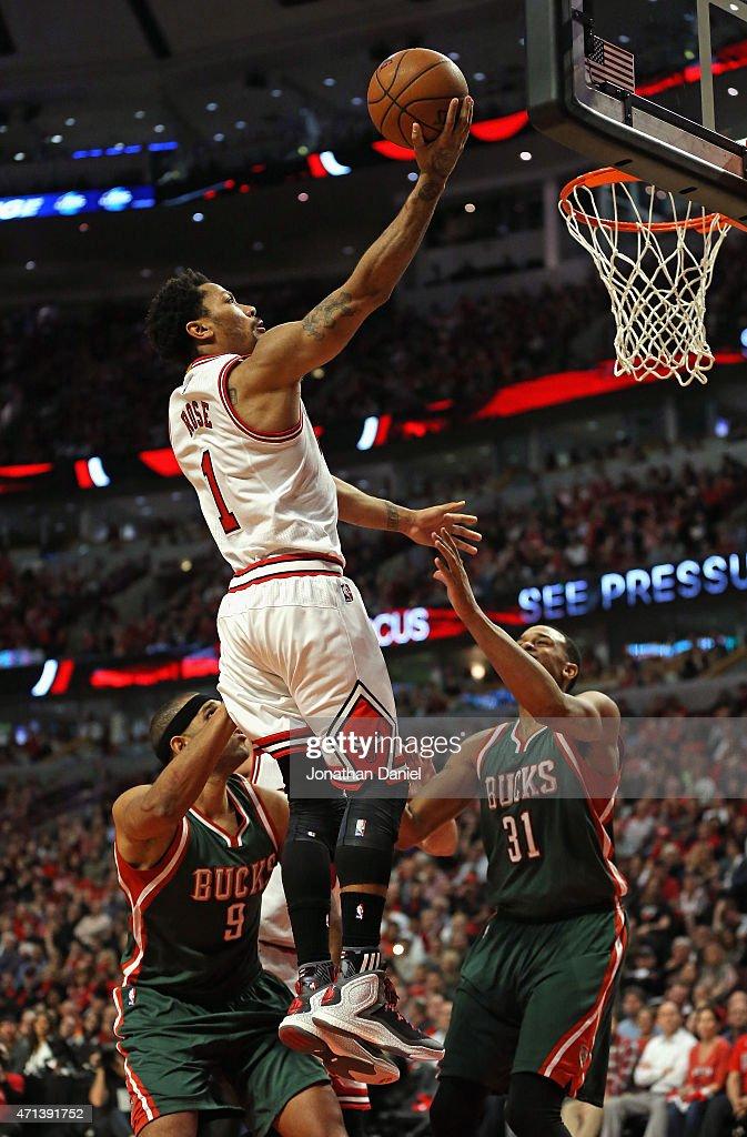 Milwaukee Bucks v Chicago Bulls - Game Five