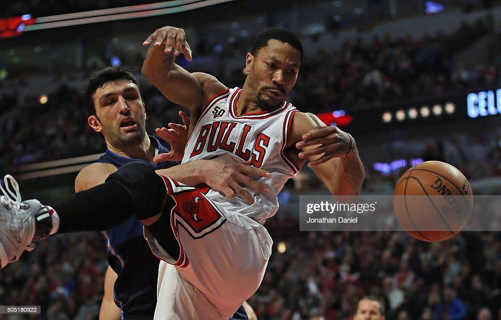 Dallas Mavericks v Chicago Bulls