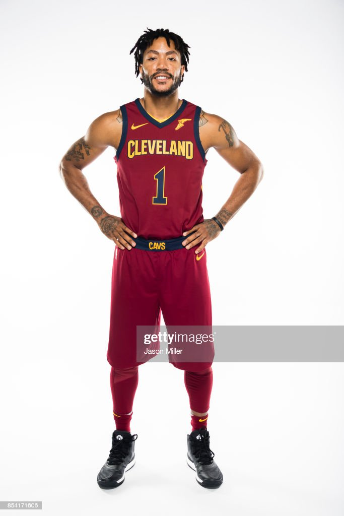 release date: 226c0 4a782 Derrick Rose of the Cleveland Cavaliers at Cleveland Clinic ...