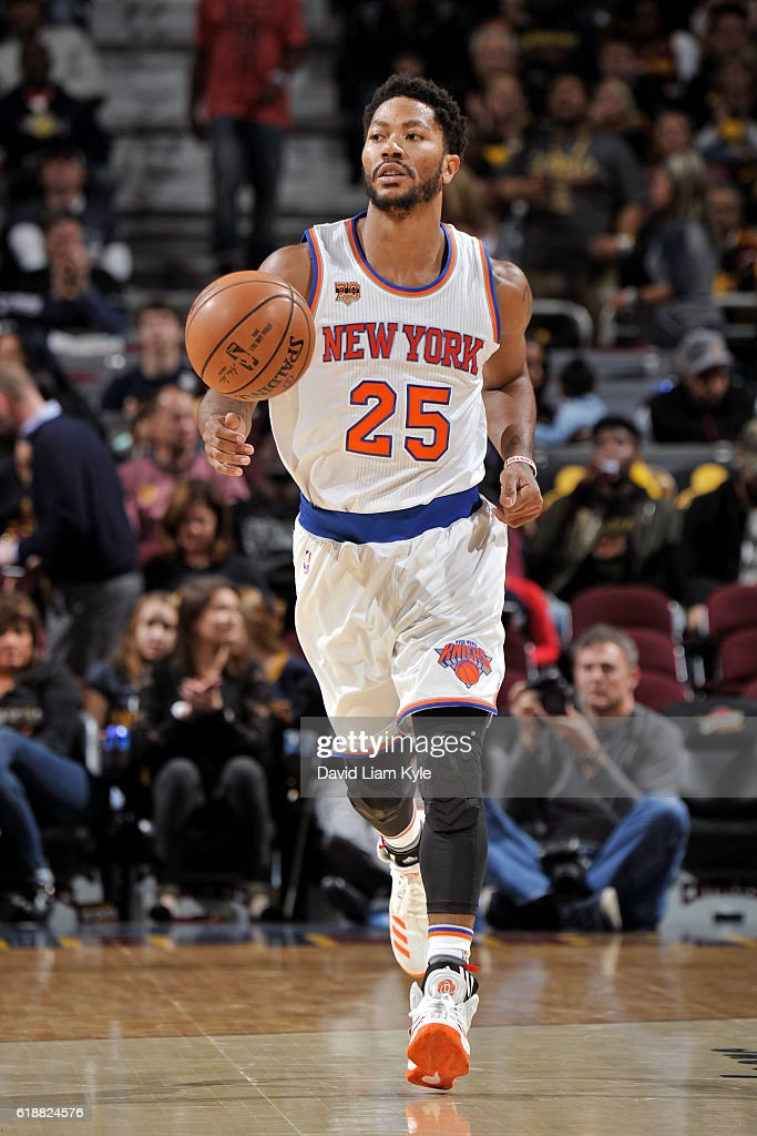 New York Knicks v Cleveland Cavaliers : News Photo