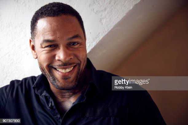 Derrick Walle from the film 'Crime and Punishment' poses for a portrait in the YouTube x Getty Images Portrait Studio at 2018 Sundance Film Festival...