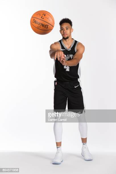 Derrick White of the San Antonio Spurs poses for a portrait during Media Day on September 25 2017 at ATT Center in San Antonio Texas NOTE TO USER...