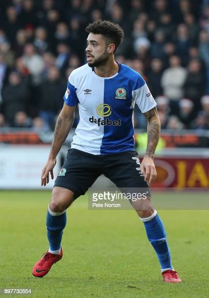 Derrick Williams of Blackburn Rovers in action during the Sky Bet League One match between Northampton Town and Blackburn Rovers at Sixfields on...