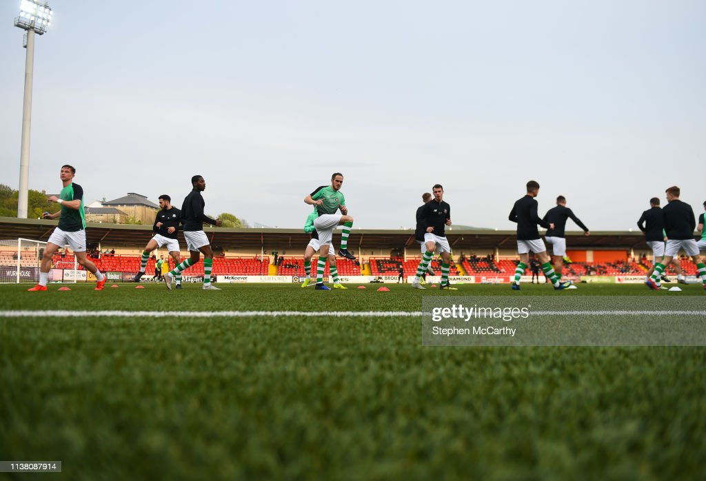 GBR: Derry City v Shamrock Rovers - SSE Airtricity League Premier Division