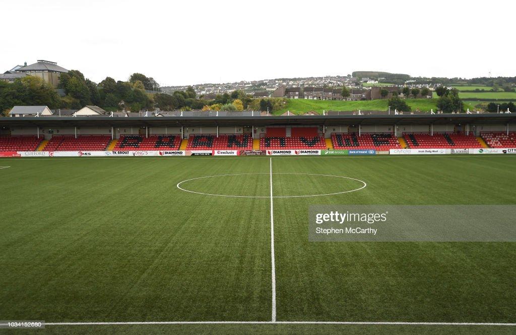 Derry City v Cobh Ramblers - EA SPORTS Cup Final : News Photo