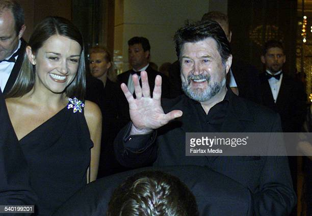 Derryn Hinch and Carla McGuire who was accompanied by husband Eddie mcj020227111001 The Age/News/The Culture Piicture Michael ClaytonJones Melbourne...