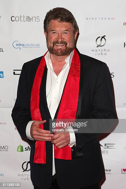 Derryn Hinch arrives ahead of the Casino Royale Gala Dinner on February 20 2016 in Melbourne Australia