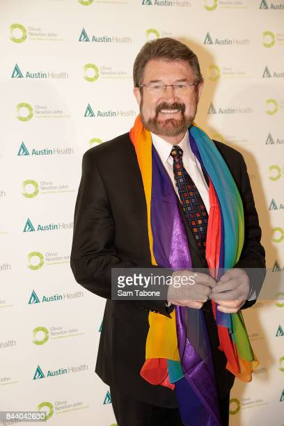 Derryn Hinch attends the Olivia NewtonJohn Gala Red Carpet at Crown Palladium on September 8 2017 in Melbourne Australia