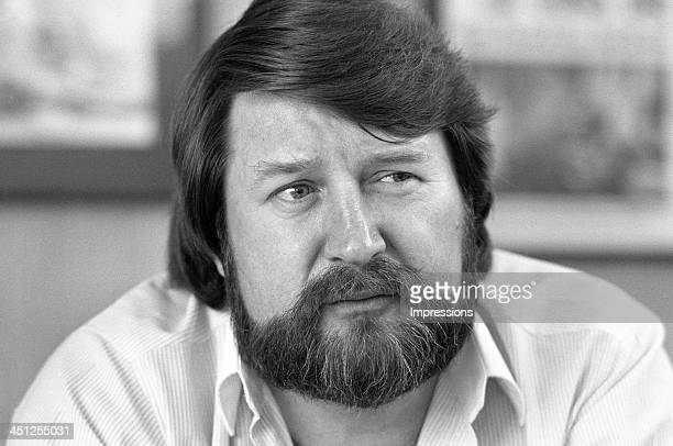 Derryn Hinch media personality during a photo session in Melbourne