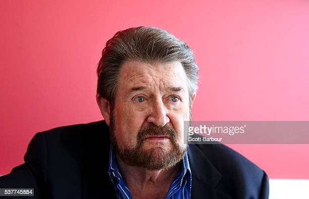 Derryn Hinch of Derryn Hinch's Justice Party looks on as he campaigns on June 3 2016 in Melbourne Australia The broadcaster turned politician has...