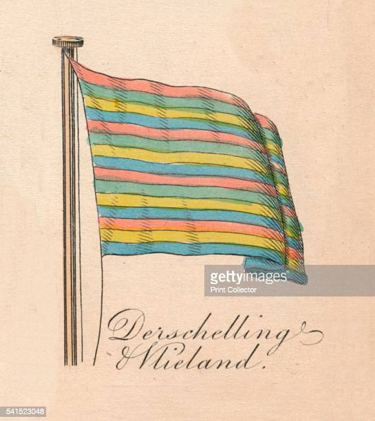 Derschelling Wieland' 1838 From A Display of the Naval Flags of All Nations Collected from the Best Authorities [Fisher Son Co London 1838] Artist...