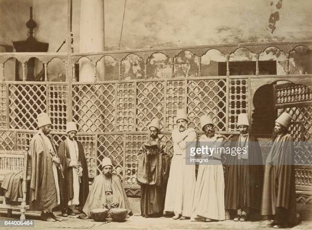 Dervishes Algiers Algeria Journey to Tanger Oran Algér 1890 Albumen print Photograph Photo album from the estate of Empress Elisabeth From the...