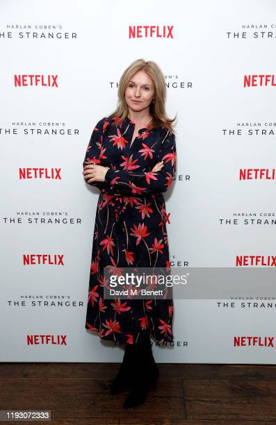Dervla Kirwan attends 'Harlan Coben's The Stranger' screening and Q&A, which premieres on Netflix from 30 January 2020, at The Soho Hotel on December...