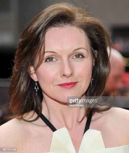 Dervla Kirwan attends The Laurence Olivier Awards at The Royal Opera House on April 28, 2013 in London, England.
