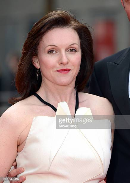 Dervla Kirwan attends The Laurence Olivier Awards at The Royal Opera House on April 28 2013 in London England