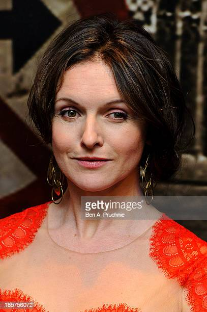 Dervla Kirwan attends the Specsavers Crime Thriller Awards at The Grosvenor House Hotel on October 24 2013 in London England