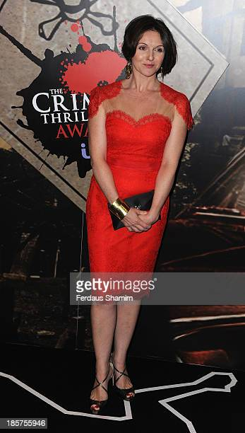 Dervla Kirwin attends the Specsavers Crime Thriller Awards at The Grosvenor House Hotel on October 24 2013 in London England