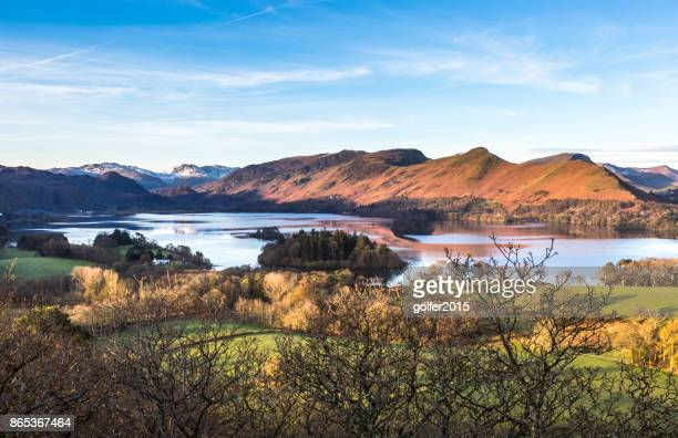 derwentwater - cumbria stock photos and pictures