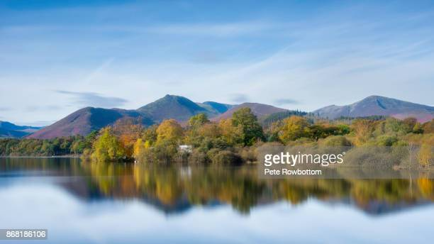 Derwentwater reflections in Autumn