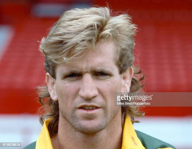Des Hasler of Australia rugby league circa 1990