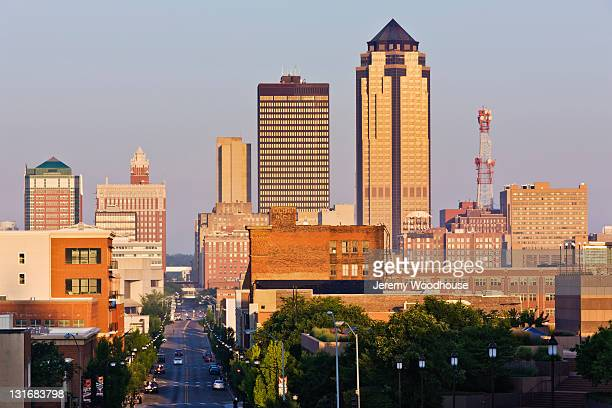 Des Moines Skyline at Sunrise