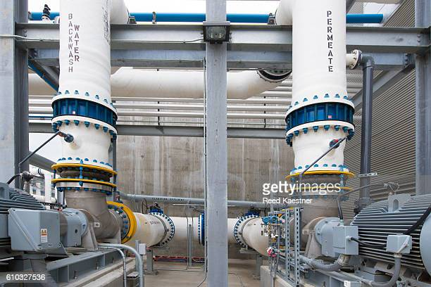 Desalination plant Carlsbad, California, United States.