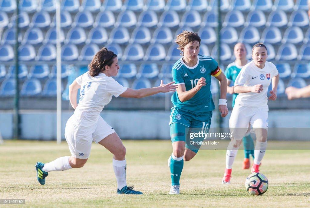 Women's U19 Slovakia v Women's U19 Germany - UEFA Women's Under19 Elite Round