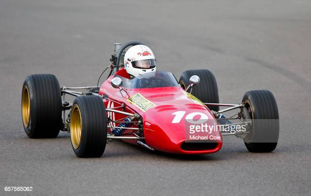 DeSanctisFord in the Derek Bell Cup race during the 75th Member's Meeting at Goodwood on March 18 2017 in Chichester England