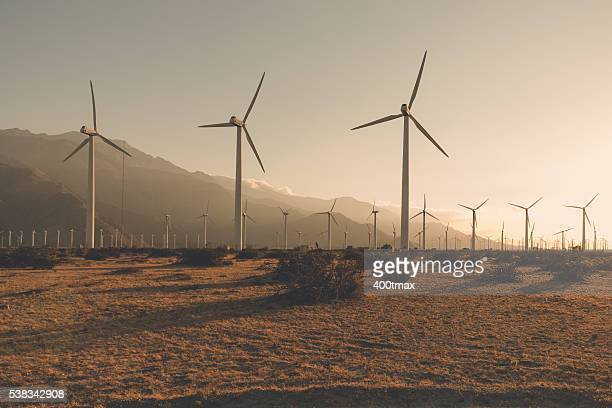 Desaturated Wind Turbines