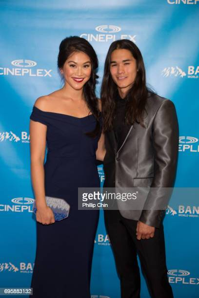 'Descendants 2' Actors Dianne Doan and Booboo Stewart arrive at the Rockie Awards Gala Cermemony during the 2017 Banff Media Festival at the Fairmont...