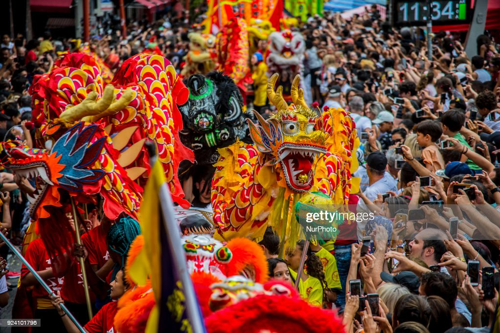 Sao Paulo celebrated the Chinese New Year