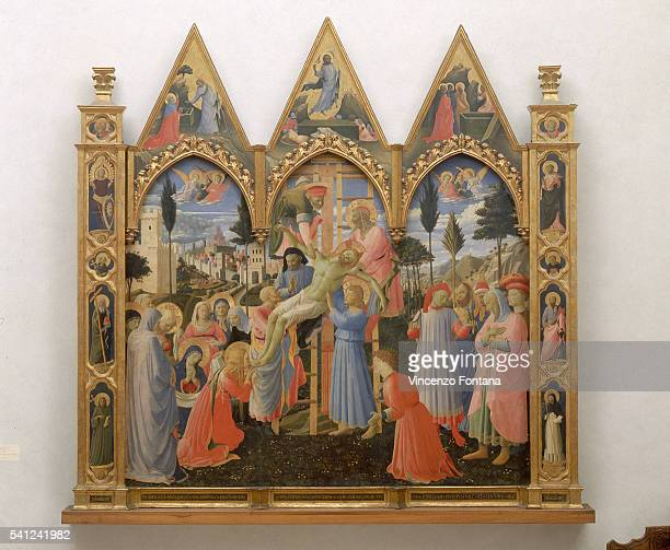 Descent From the Cross by Fra Angelico