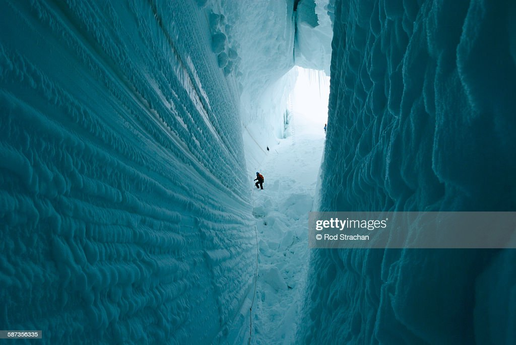 Descent into the abyss : Stock Photo