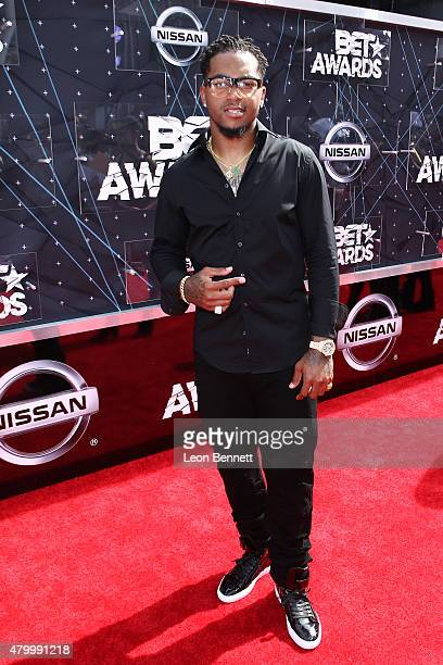 Desean Jackson arrived at the BET Make A Wish Foundation Recipients BET Experience At LA Live Red Carpet arrivals Weekend Events on June 28 2015 in...