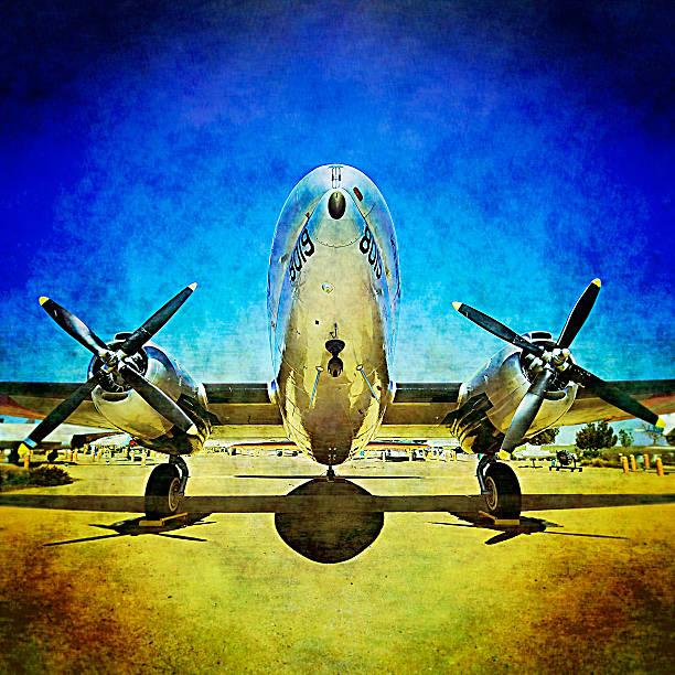 Desert airplane