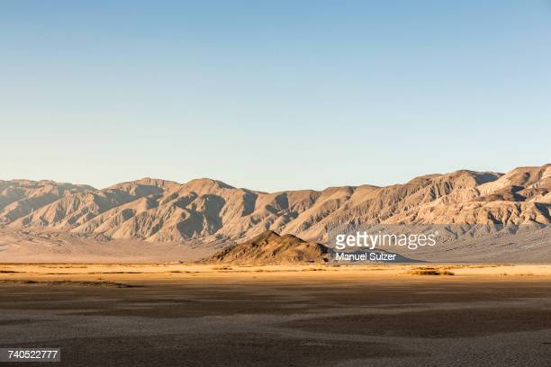 Desert and mountains in Death Valley National Park, California, USA