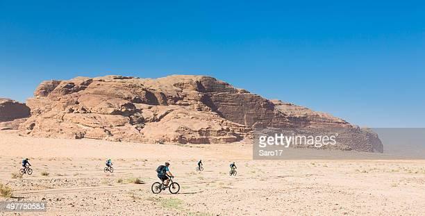 Desert Biking at Wadi Rum, Jordan