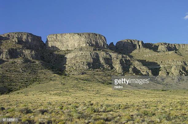 desert cliffs - great basin stock pictures, royalty-free photos & images
