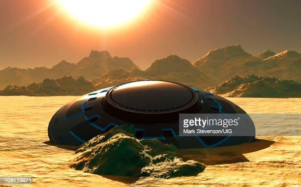 Desert Crash Site